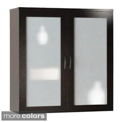 Mayline Brighton Glass Display Cabinet