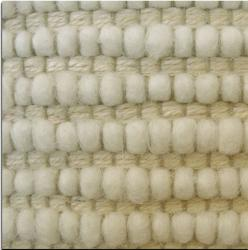 Jovi Home Dakota Hand Made Natural Off White Berber Rug