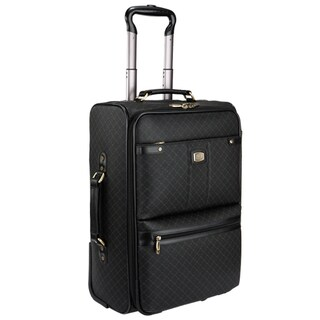 Rioni Signature Black 29-inch Wheeled Upright Suitcase