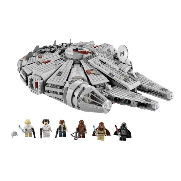 LEGO 7965 Star Wars Millennium Falcon Toy Set