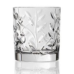 Laurus Collection Crystal Double Old Fashioned Glasses (Set of 6) - Thumbnail 1
