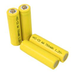 Solar Light AA Ni-CD Rechargable Batteries (Pack of 10)