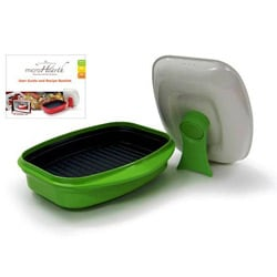Microhearth Grill Pan for Microwave Cooking
