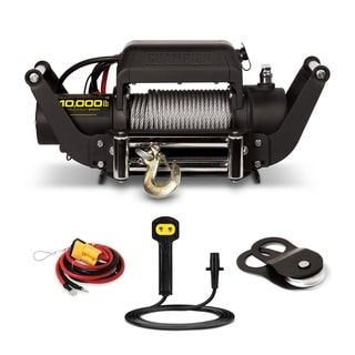 Champion Power Equipment 11006 Heavy Duty 10,000-lb Truck/ Jeep Winch