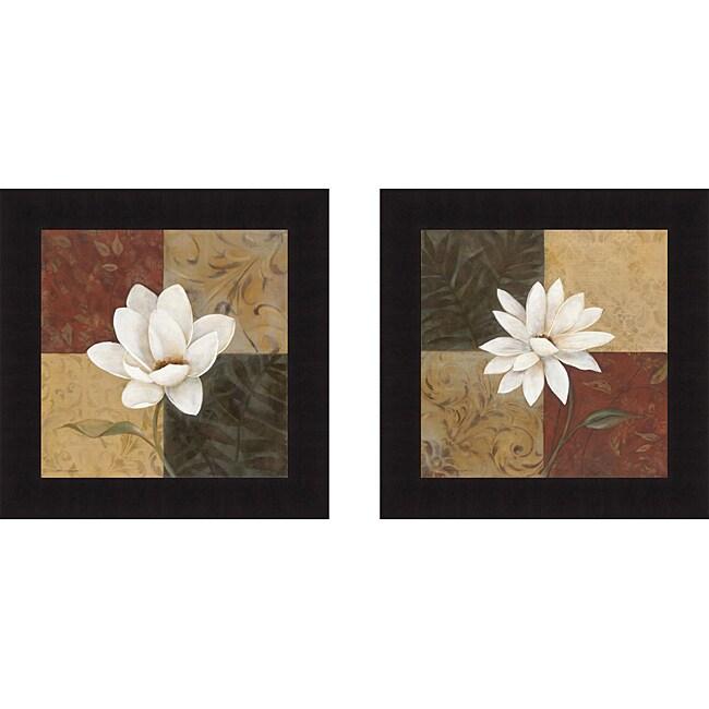 Carol Robinson 'Following Summer I & II' Framed Print