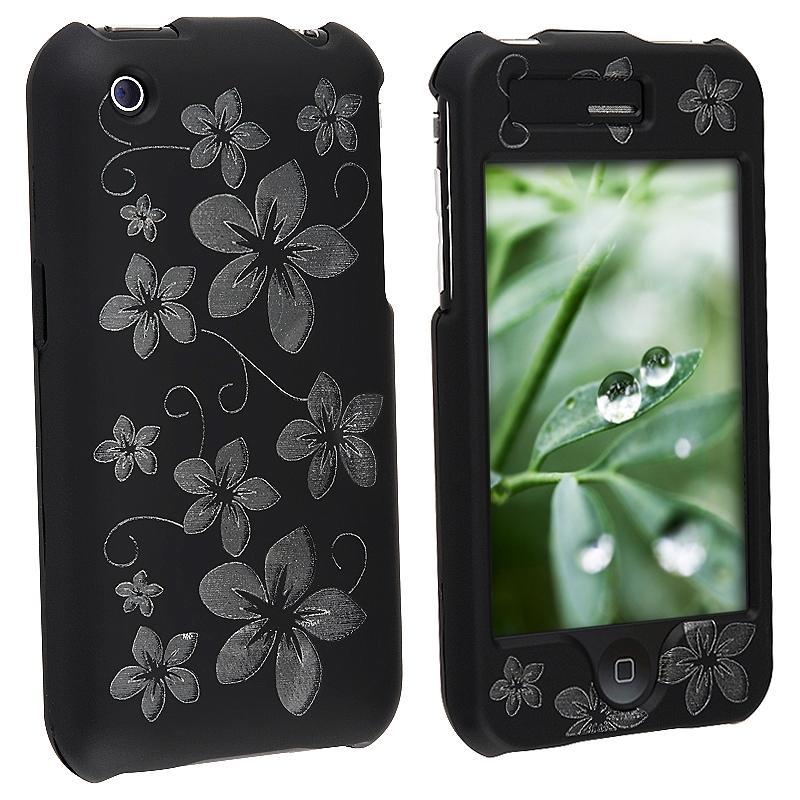 Laser Black Hawaii Case for Apple iPhone 3G/ 3GS