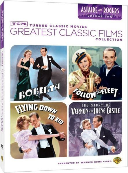 TCM Greatest Classic Films: Astaire & Rogers Vol. 2 (DVD)