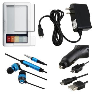 BasAcc Protector/ Chargers/ Cable/ Headset for Barnes and Noble Nook
