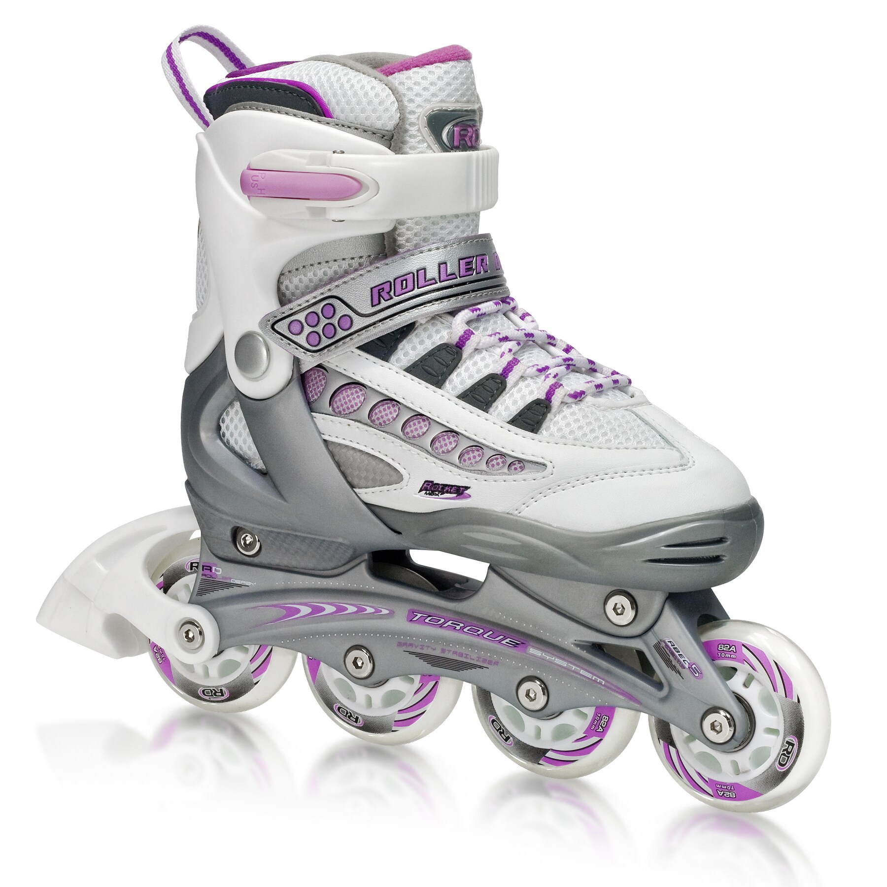 Rocket MDX Girl's Adjustable Inline Skates