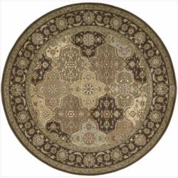 Nourison Somerset Multicolor Area Rug (5'6 Round)