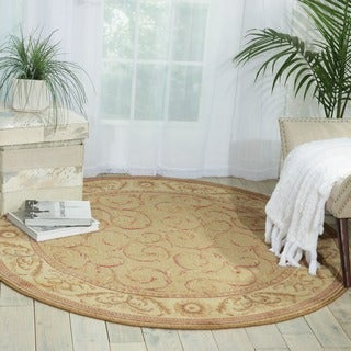 Nourison Somerset Meadow Area Rug (5'6 Round)