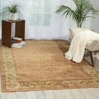 "Nourison Somerset Peach Area Rug - 5'6"" x 7'5"""