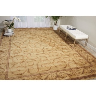 Nourison Somerset Ivory Area Rug (5'6 x 7'5)