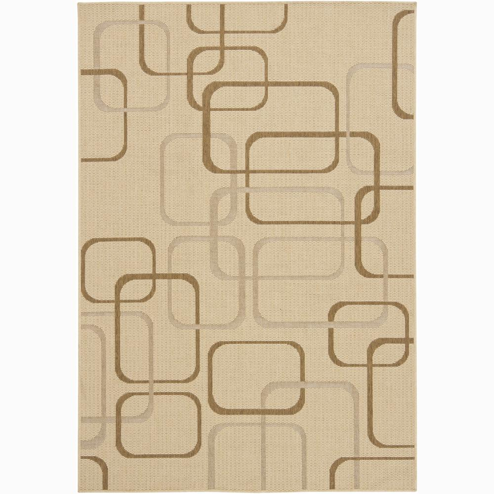 Artist's Loom Indoor/Outdoor Contemporary Geometric Rug - 8' x 11'