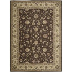 Nourison Somerset Brown Area Rug - 7'9 x 10'10 - Thumbnail 0