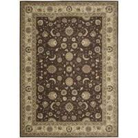 "Nourison Somerset Brown Area Rug - 7'9"" x 10'10"""