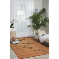 "Nourison Somerset Gold Area Rug - 7'9"" x 10'10"""