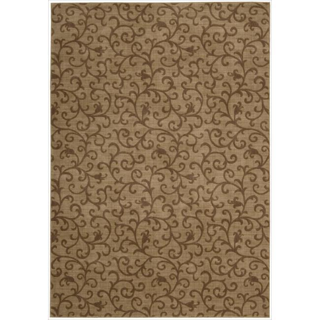Nourison Somerset Gold Area Rug - 5'6 x 7'5