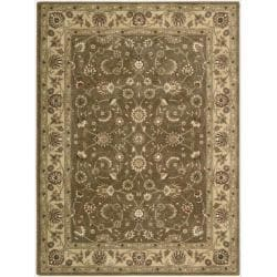 Nourison Somerset Taupe Area Rug (5'6 x 7'5) - 5'6 x 7'5 - Thumbnail 0