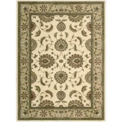 Nourison Somerset Ivory Area Rug - 5'6 x 7'5 - Thumbnail 0