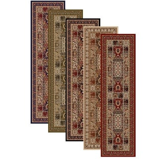 "Admire Home Living Amalfi Panel Area Rug Runner (2'2 x 7'7) - 2'2"" x 7'7"""