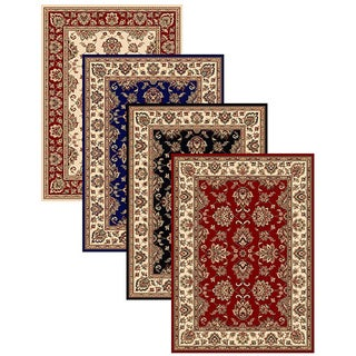Admire Home Living Virginia Oriental Area Rug (5'5 x 7'7) - 5'5 x 7'7