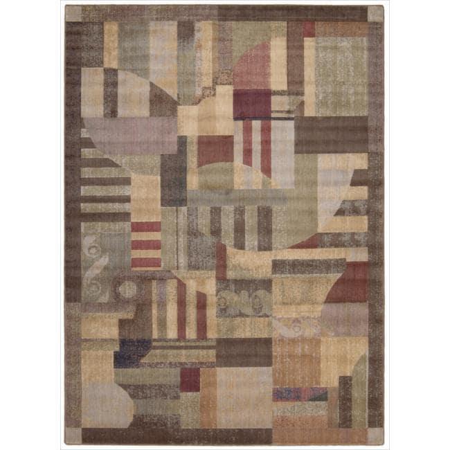 Nourison Somerset Multicolor Area Rug - 7'9 x 10'10