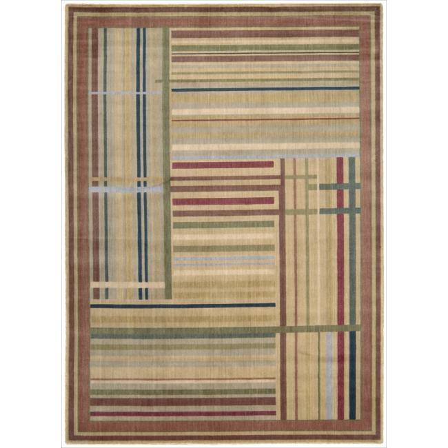 "Nourison Somerset Multicolor Area Rug - 7'9"" x 10'10"""