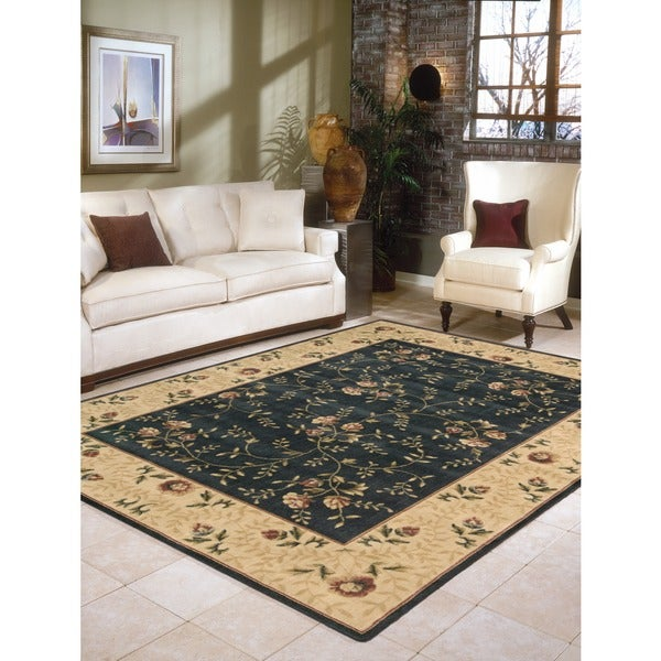 "Nourison Somerset Navy Area Rug - 7'9"" x 10'10"""