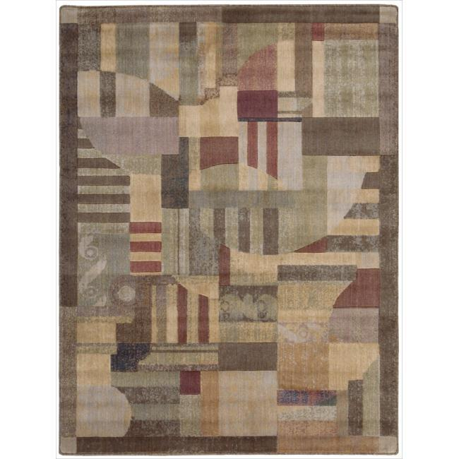Nourison Somerset Multicolor Area Rug (5'6 x 7'5)