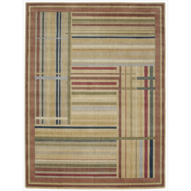 "Nourison Somerset Multicolor Area Rug - 5'6"" x 7'5"""