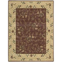 Nourison Somerset Rose Area Rug (5'6 x 7'5)