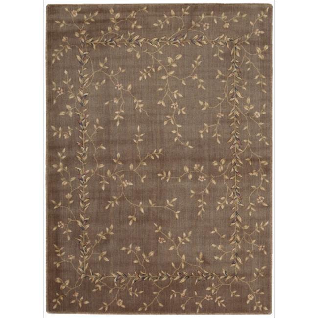 "Nourison Somerset Khaki Area Rug (5'6 x 7'5) - 5'6"" x 7'5"""