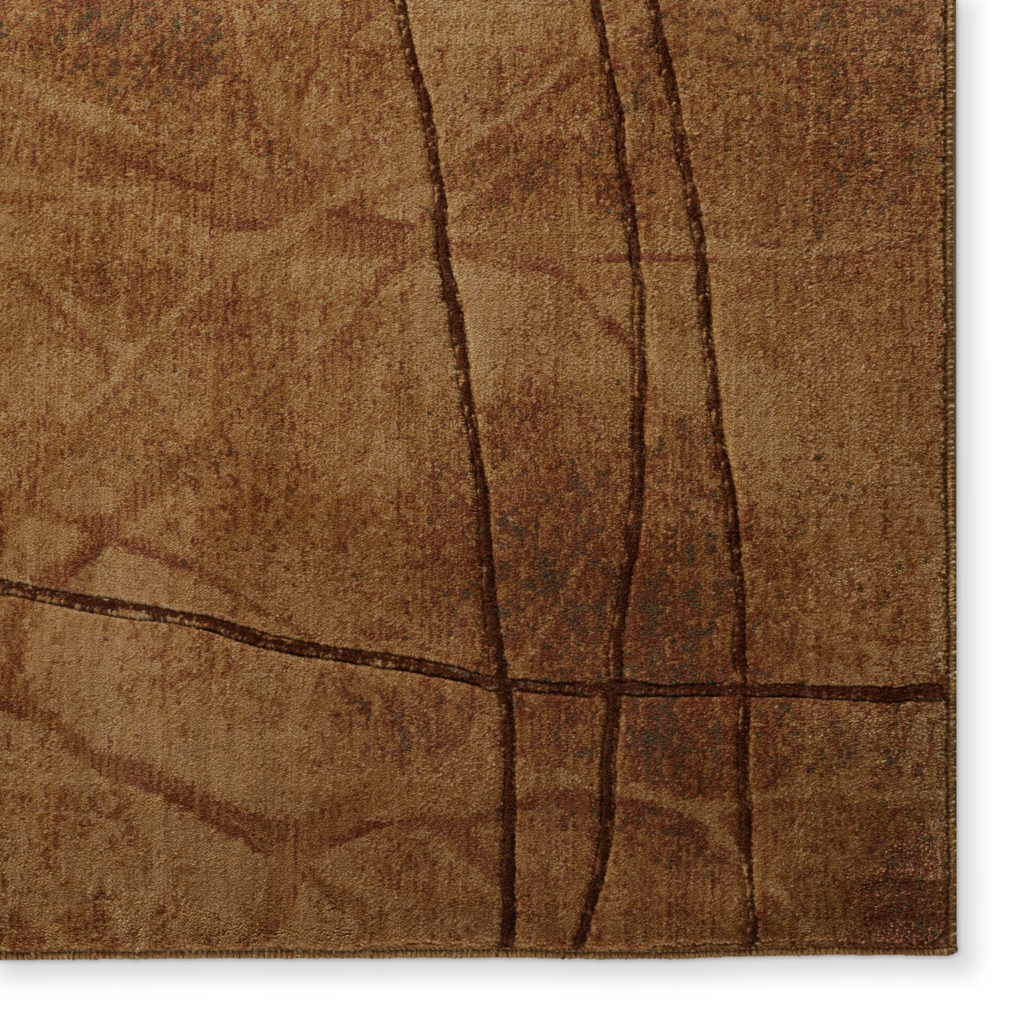 Nourison Somerset Latte Area Rug (5'3 x 7'5)