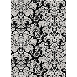 Admire Home Living Brilliance Damask Area Rug (7'9 x 11')