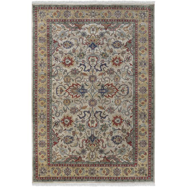 Hand-knotted Allendale Wool Rug (8' Round)