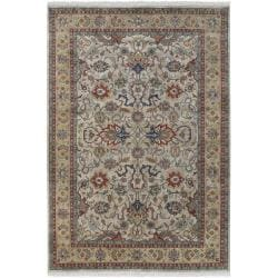 Hand-knotted Allendale Wool Area Rug (8' Round) - Thumbnail 0
