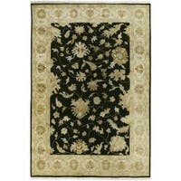 Hand-knotted Filigree Wool Area Rug - 9' x 13'