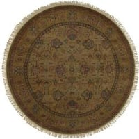 Hand Knotted Americus Wool Area Rug - 8' x 8'