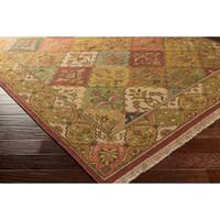 """Hand-knotted Triumphant Wool Area Rug - 2'6"""" x 10'"""