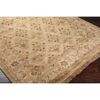 Hand-knotted Belmont Wool Rug (8' Square)