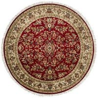 Hand-knotted Cloverdale Wool Area Rug - 8' x 8'