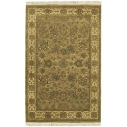 Hand-knotted Kargil Wool Area Rug (9' x 13') - Thumbnail 0