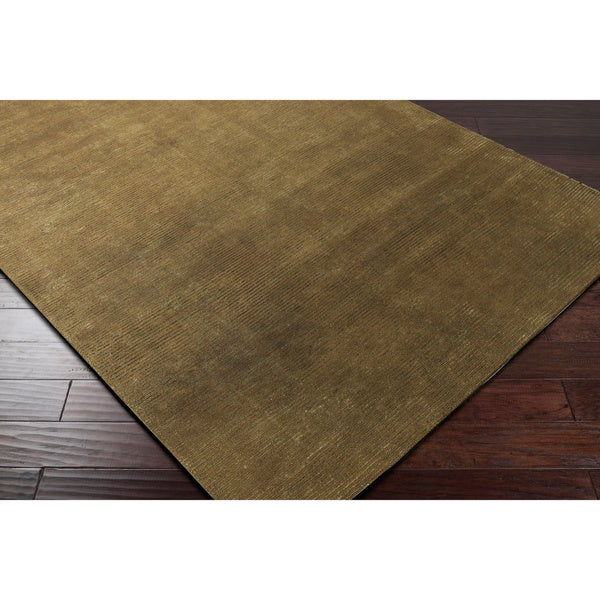 Hand-knotted Normandie Wool Area Rug - 5' x 8'