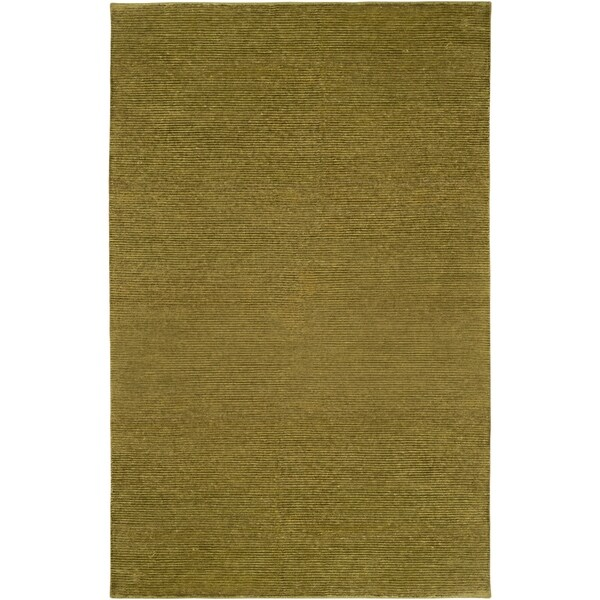 Hand-knotted Normandie Wool Area Rug - 9' x 13'