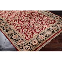 Hand-knotted Elon Wool Area Rug (9'6 x 13'6)