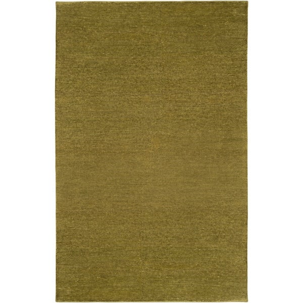 Hand-knotted Normandie Wool Area Rug - 8' X 11'