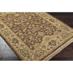 Hand-knotted Dapper Wool Rug (9' x 12') - Thumbnail 1