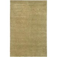 Hand-knotted Woodstock Abstract Design Wool Area Rug - 8' X 11'