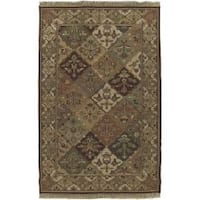 Hand-knotted Triumphant Wool Area Rug (10' x 14')